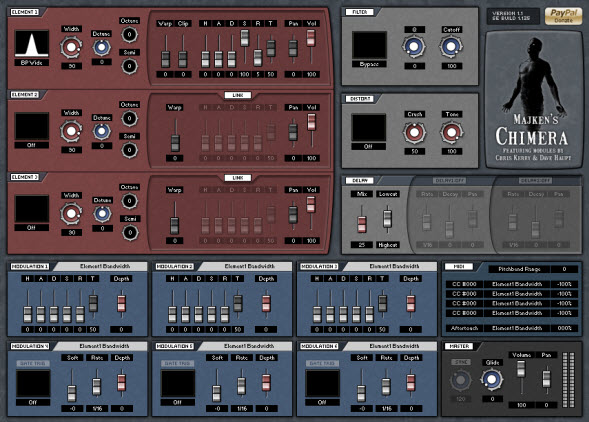 Majken's Chimera Free VST Synth For Pads And Haunting Leads
