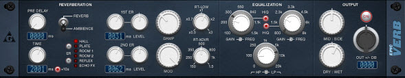 EpicVerb. Beautiful Sounding Free VST Reverb Effect