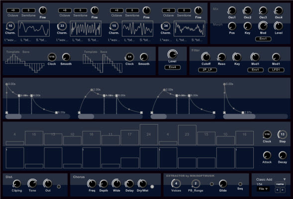 Extractor. Free Additive Synthesizer